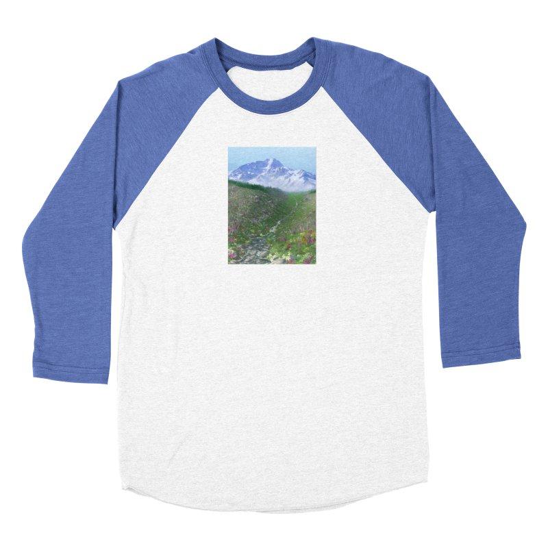 Alpine Meadow Women's Baseball Triblend Longsleeve T-Shirt by farorenightclaw's Shop