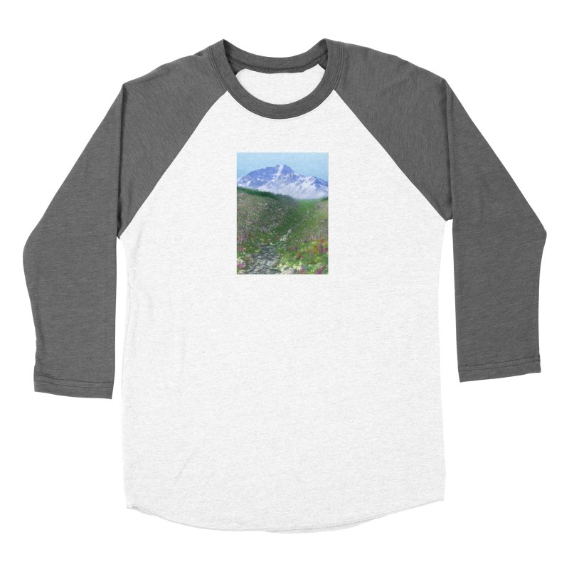 Alpine Meadow Women's Longsleeve T-Shirt by farorenightclaw's Shop