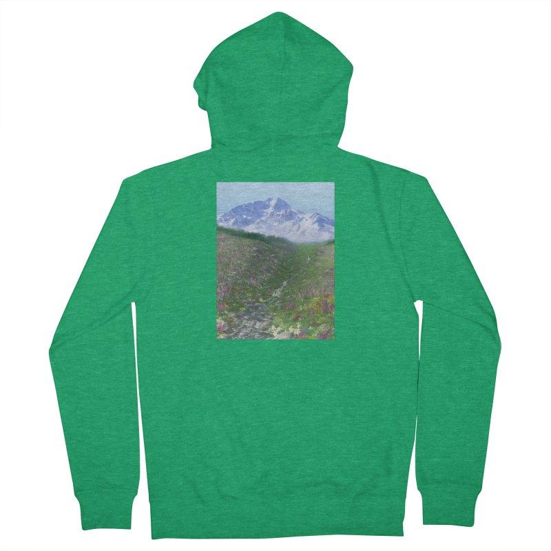 Alpine Meadow Men's Zip-Up Hoody by farorenightclaw's Shop