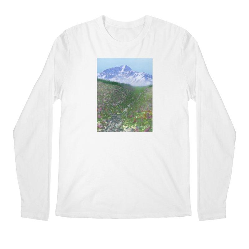 Alpine Meadow Men's Regular Longsleeve T-Shirt by farorenightclaw's Shop