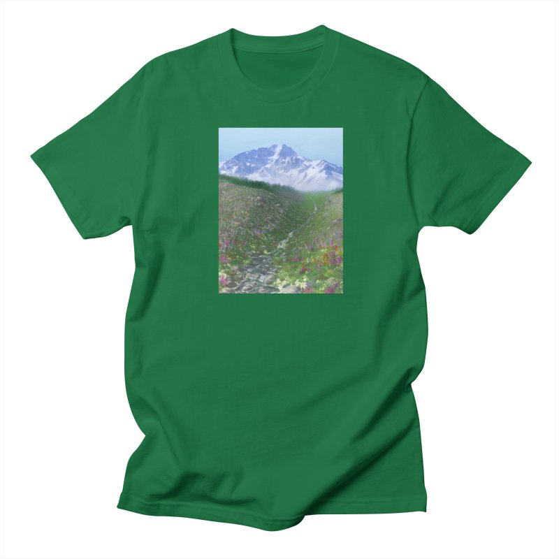 Alpine Meadow Men's T-Shirt by farorenightclaw's Shop