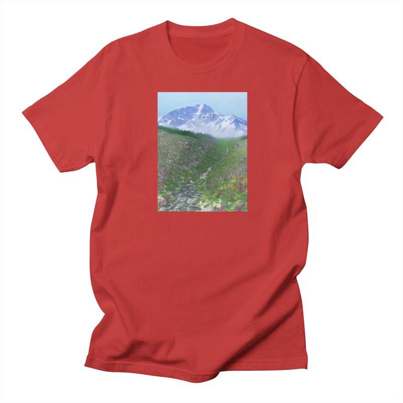 Alpine Meadow Women's Regular Unisex T-Shirt by farorenightclaw's Shop