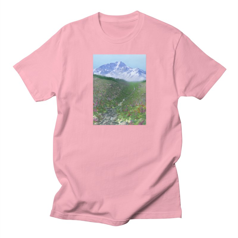 Alpine Meadow Women's Regular Unisex T-Shirt by farorenightclaw's Shop