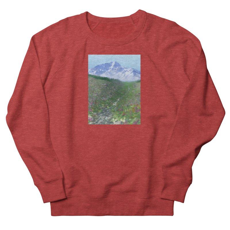 Alpine Meadow Women's French Terry Sweatshirt by farorenightclaw's Shop