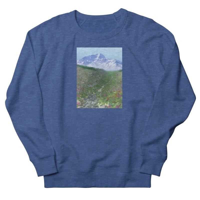 Alpine Meadow Men's Sweatshirt by farorenightclaw's Shop