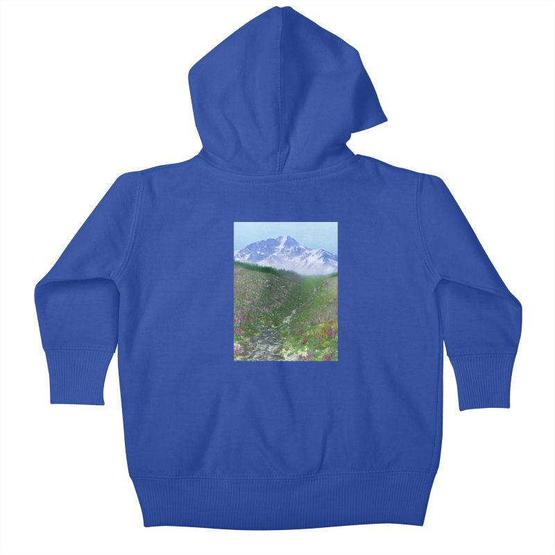 Alpine Meadow Kids Baby Zip-Up Hoody by farorenightclaw's Shop