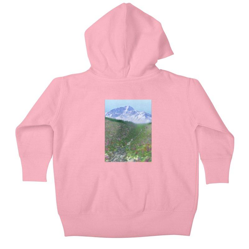 Alpine Meadow Kids Baby Zip-Up Hoody by farorenightclaw's Shop