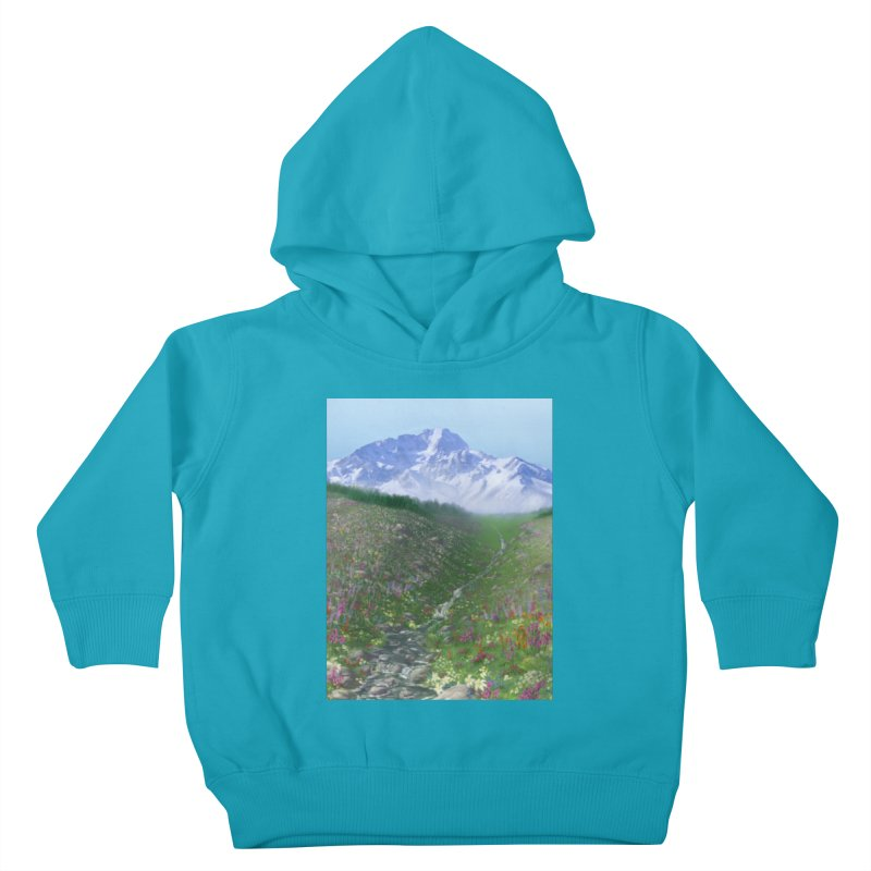 Alpine Meadow Kids Toddler Pullover Hoody by farorenightclaw's Shop