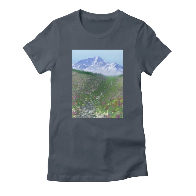 Alpine Meadow Women's T-Shirt by farorenightclaw's Shop