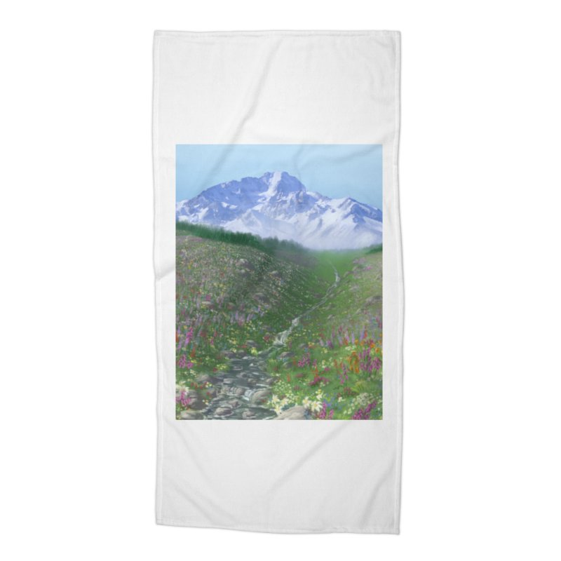 Alpine Meadow Accessories Beach Towel by farorenightclaw's Shop