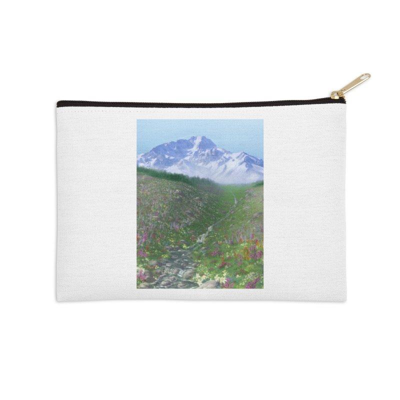 Alpine Meadow Accessories Zip Pouch by farorenightclaw's Shop