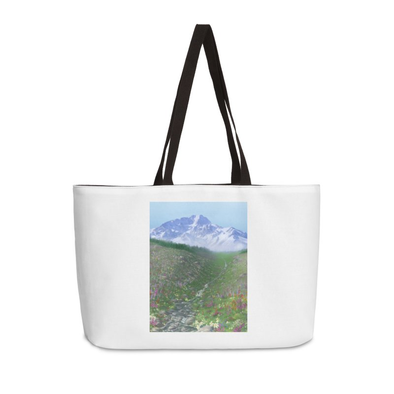 Alpine Meadow Accessories Weekender Bag Bag by farorenightclaw's Shop