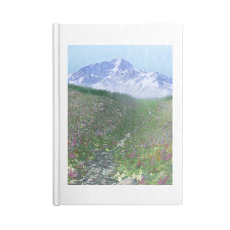Alpine Meadow Accessories Blank Journal Notebook by farorenightclaw's Shop