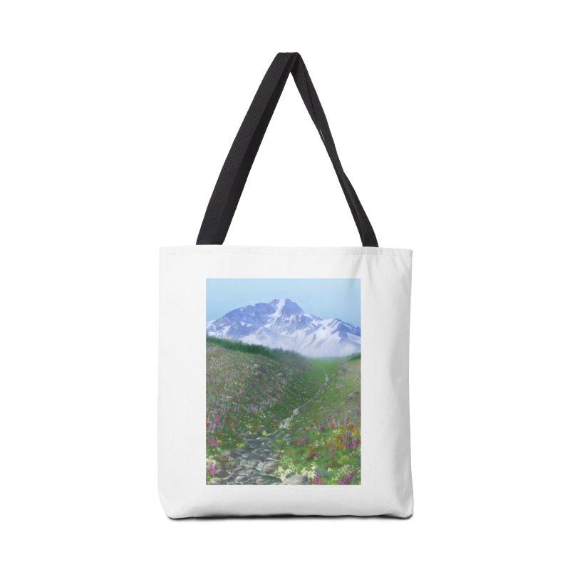 Alpine Meadow Accessories Bag by farorenightclaw's Shop