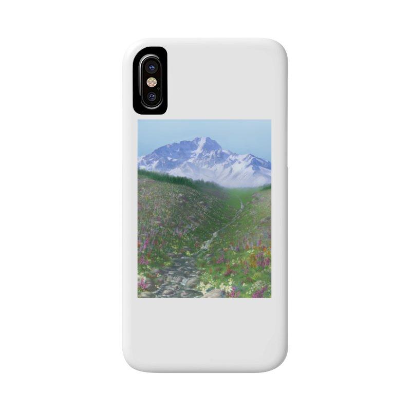 Alpine Meadow Accessories Phone Case by farorenightclaw's Shop