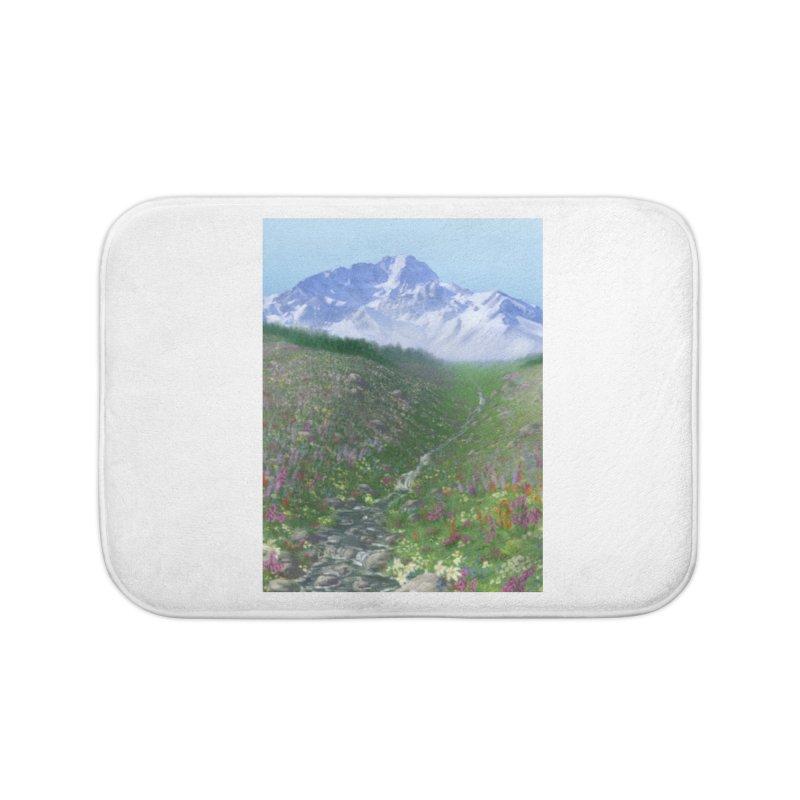 Alpine Meadow Home Bath Mat by farorenightclaw's Shop