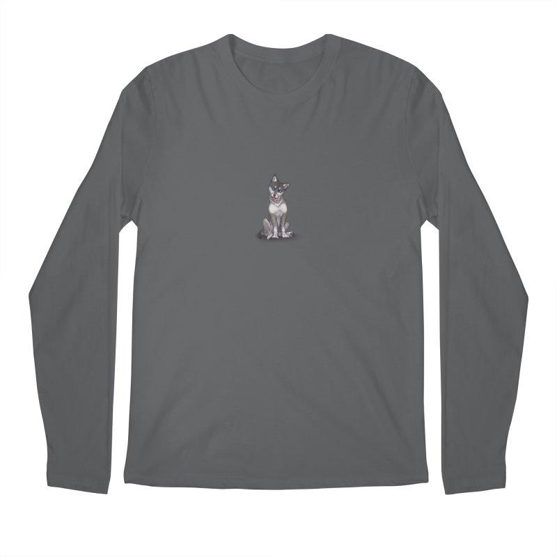 Wolf Pup Men's Longsleeve T-Shirt by farorenightclaw's Shop