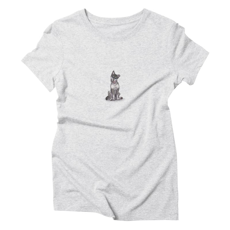 Wolf Pup Women's T-Shirt by farorenightclaw's Shop