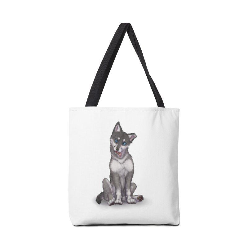Wolf Pup Accessories Bag by farorenightclaw's Shop