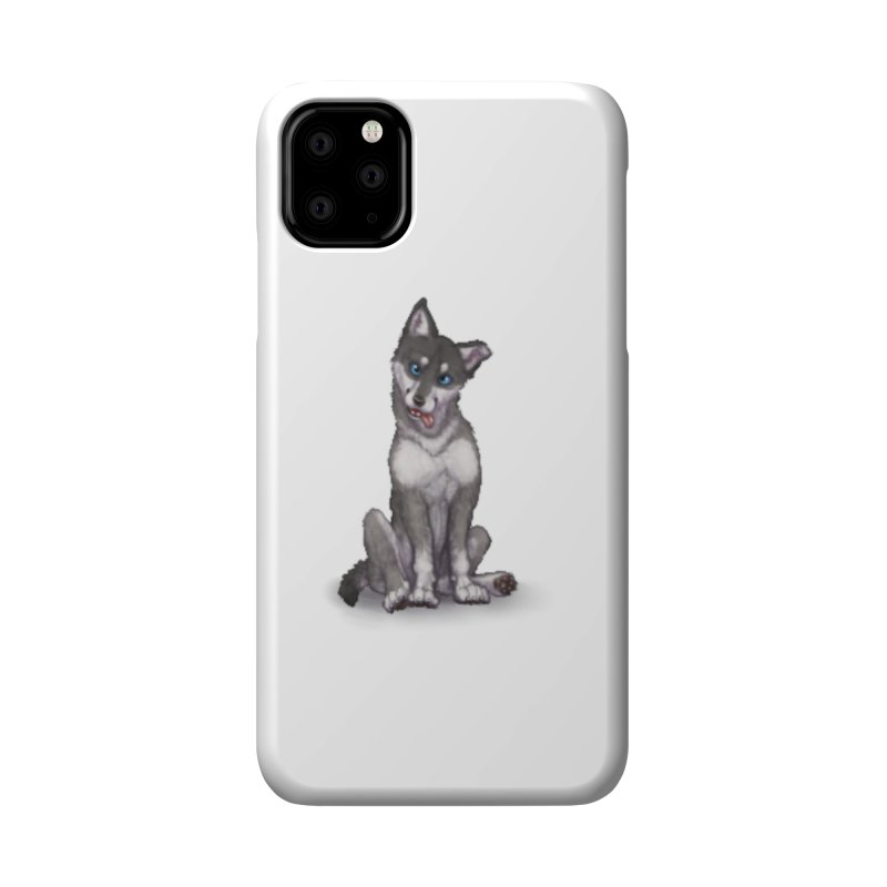 Wolf Pup Accessories Phone Case by farorenightclaw's Shop