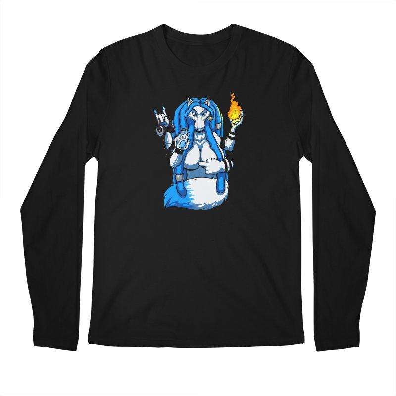 Fox Shiva Men's Regular Longsleeve T-Shirt by farorenightclaw's Shop