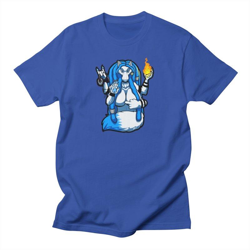 Fox Shiva Men's T-Shirt by farorenightclaw's Shop