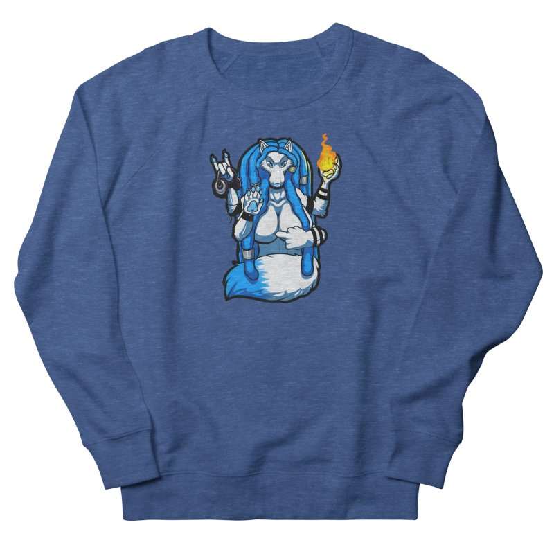 Fox Shiva Women's Sweatshirt by farorenightclaw's Shop