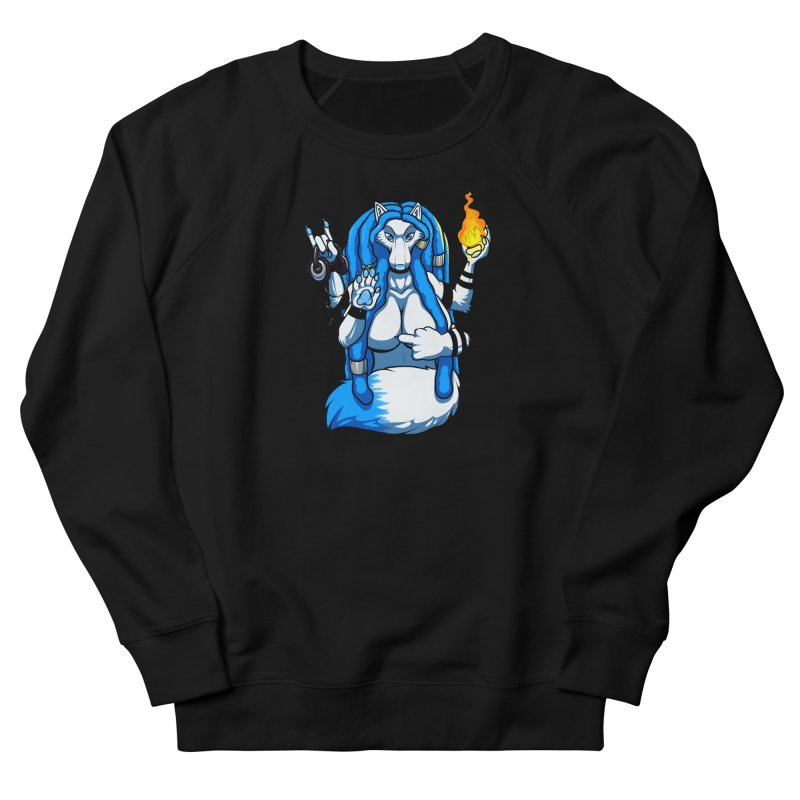 Fox Shiva Women's French Terry Sweatshirt by farorenightclaw's Shop