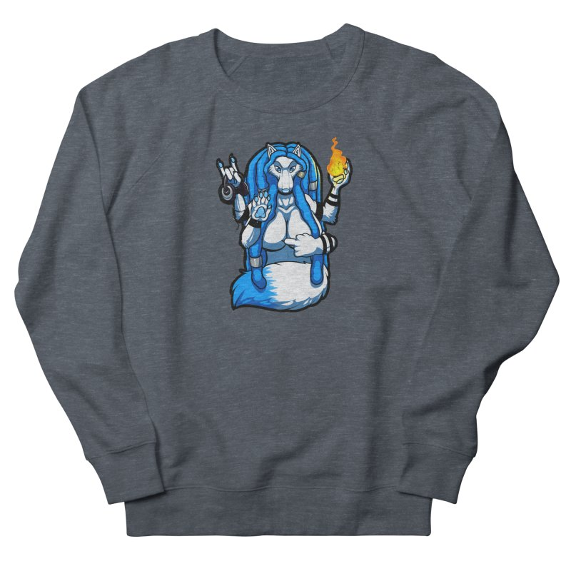 Fox Shiva Men's Sweatshirt by farorenightclaw's Shop