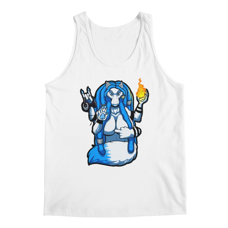 Fox Shiva Men's Tank by farorenightclaw's Shop