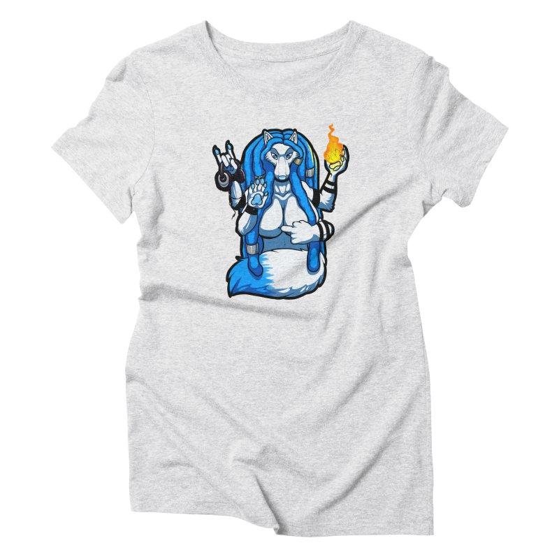 Fox Shiva Women's T-Shirt by farorenightclaw's Shop