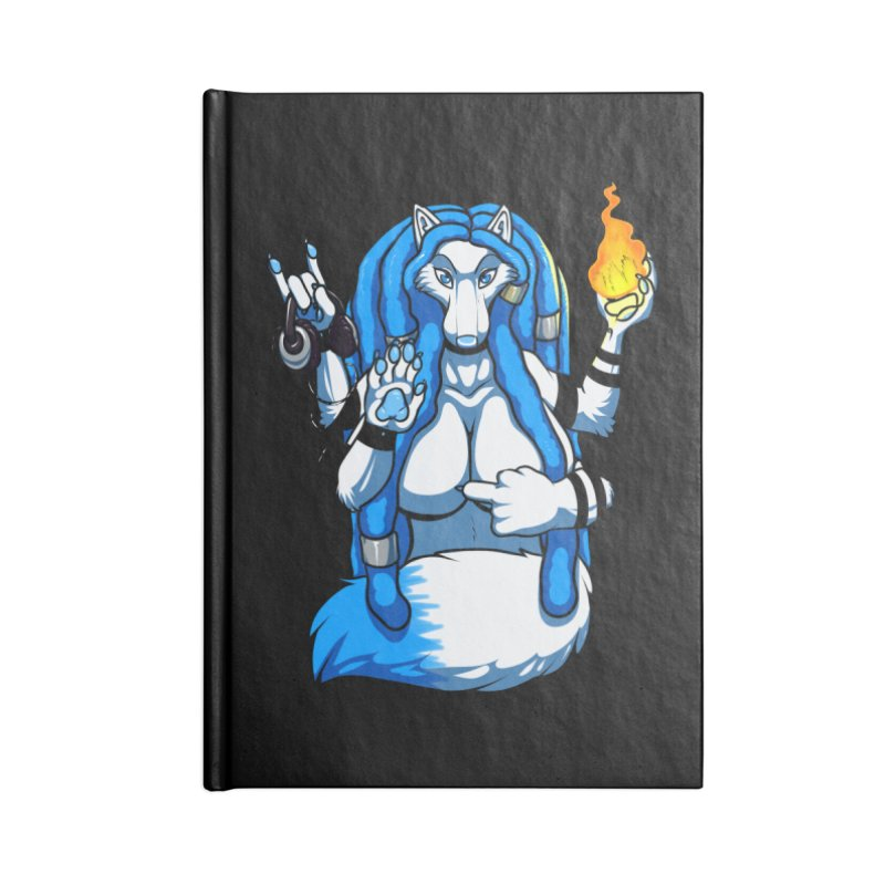 Fox Shiva Accessories Notebook by farorenightclaw's Shop
