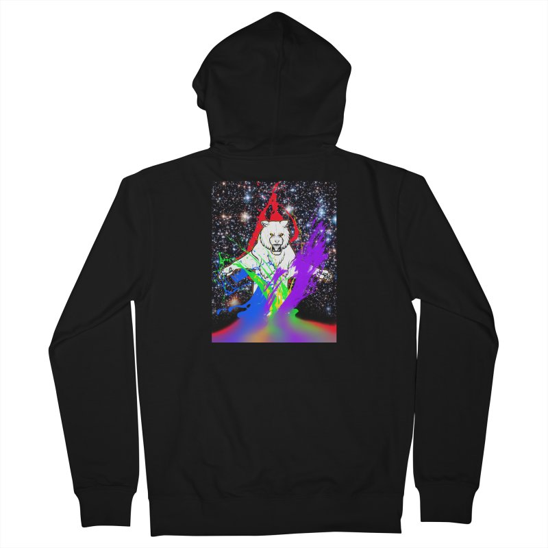 Tigers! From! SPAAAACE! Men's French Terry Zip-Up Hoody by farorenightclaw's Shop