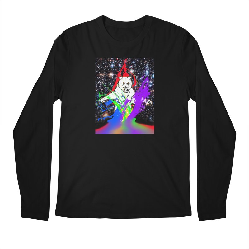 Tigers! From! SPAAAACE! Men's Longsleeve T-Shirt by farorenightclaw's Shop