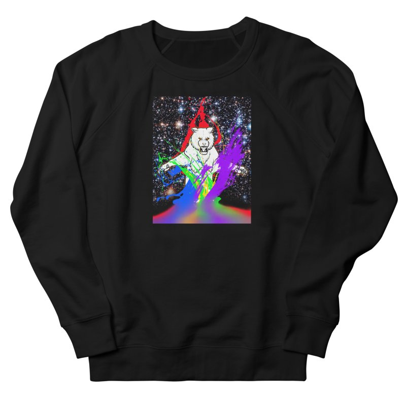 Tigers! From! SPAAAACE! Men's French Terry Sweatshirt by farorenightclaw's Shop
