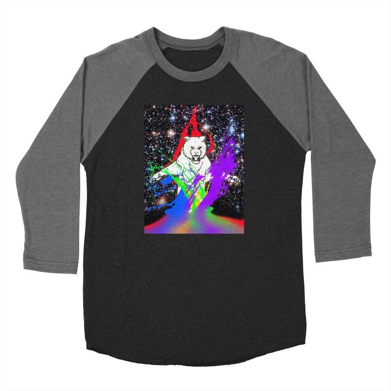 Tigers! From! SPAAAACE! Women's Baseball Triblend Longsleeve T-Shirt by farorenightclaw's Shop