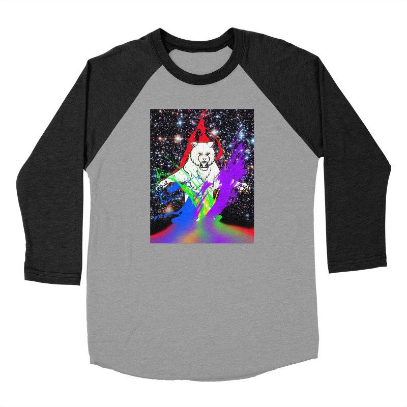 Tigers! From! SPAAAACE! Men's Baseball Triblend Longsleeve T-Shirt by farorenightclaw's Shop