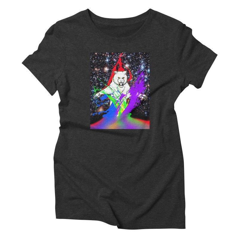 Tigers! From! SPAAAACE! Women's T-Shirt by farorenightclaw's Shop
