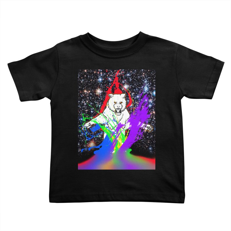 Tigers! From! SPAAAACE! Kids Toddler T-Shirt by farorenightclaw's Shop