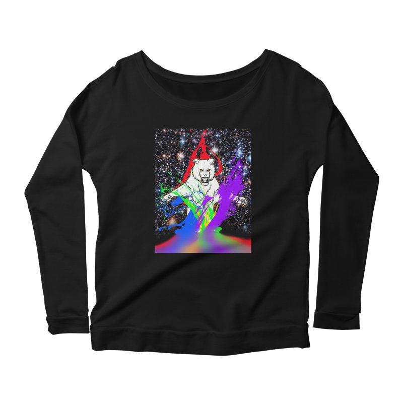 Tigers! From! SPAAAACE! Women's Longsleeve T-Shirt by farorenightclaw's Shop