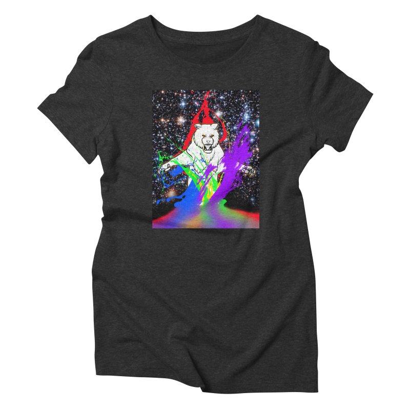 Tigers! From! SPAAAACE! Women's Triblend T-Shirt by farorenightclaw's Shop