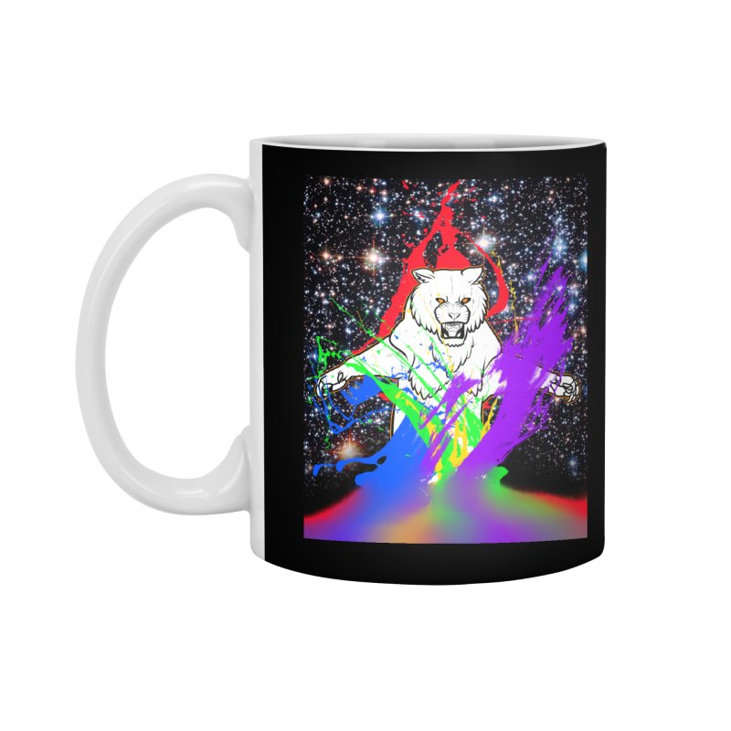 Tigers! From! SPAAAACE! Accessories Standard Mug by farorenightclaw's Shop
