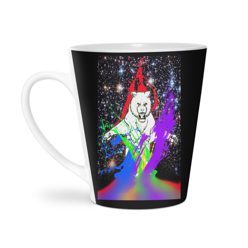 Tigers! From! SPAAAACE! Accessories Latte Mug by farorenightclaw's Shop