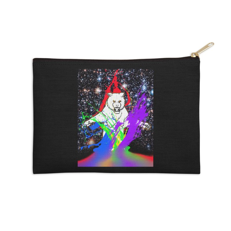 Tigers! From! SPAAAACE! Accessories Zip Pouch by farorenightclaw's Shop
