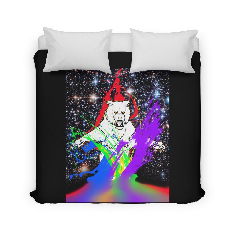 Tigers! From! SPAAAACE! Home Duvet by farorenightclaw's Shop