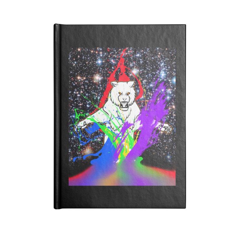 Tigers! From! SPAAAACE! Accessories Blank Journal Notebook by farorenightclaw's Shop