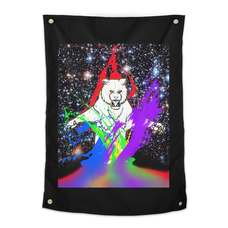 Tigers! From! SPAAAACE! Home Tapestry by farorenightclaw's Shop