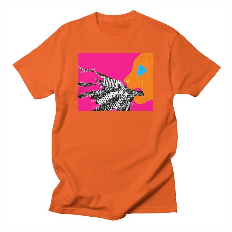 Pressured Speech Men's T-Shirt by farorenightclaw's Shop