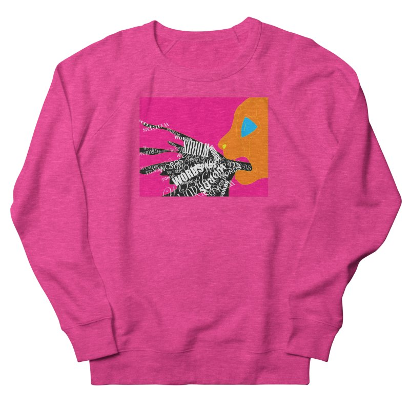Pressured Speech Women's French Terry Sweatshirt by farorenightclaw's Shop