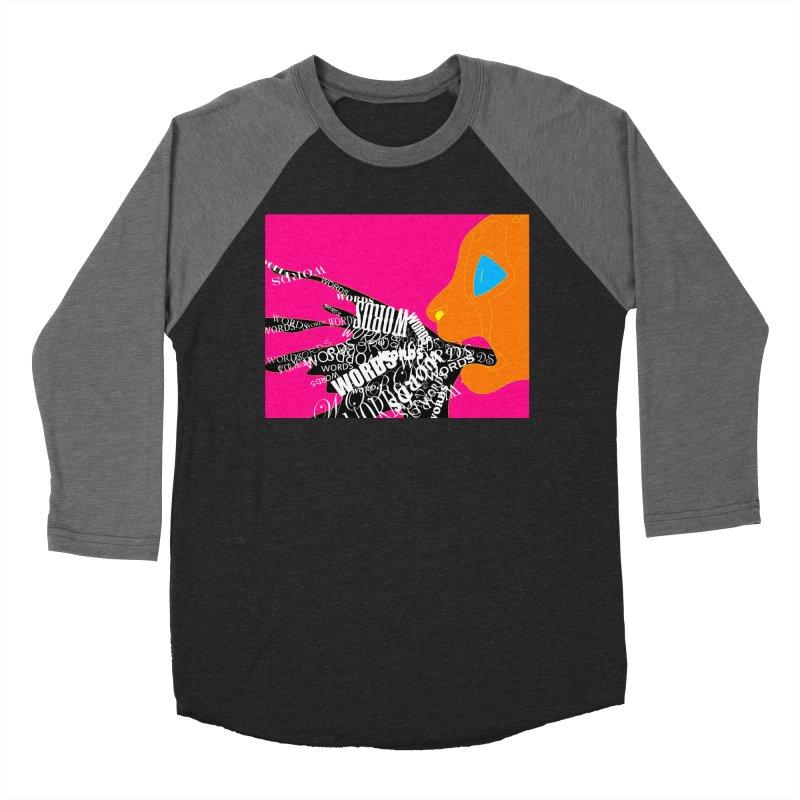 Pressured Speech Men's Baseball Triblend Longsleeve T-Shirt by farorenightclaw's Shop